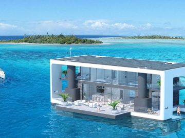 Proyecto Arkup: The Livable Yacht