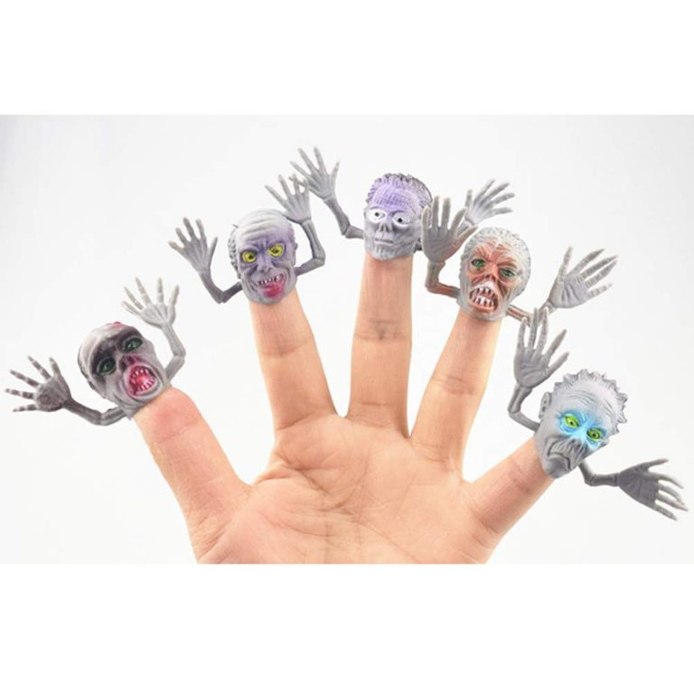 Halloween Zombi Finger Toy