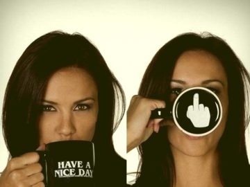 """Taza """"Have A Nice Day"""""""