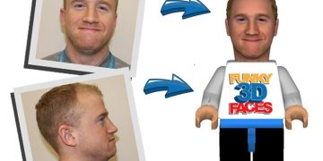 Funky Faces 3D