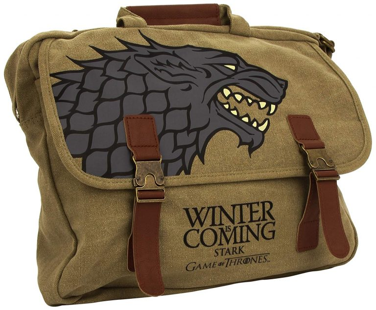 Bandolera Stark Winter is Coming de Juego de Tronos