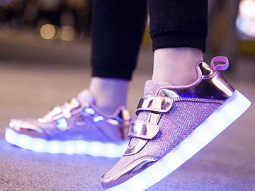 Zapatos con luces LED