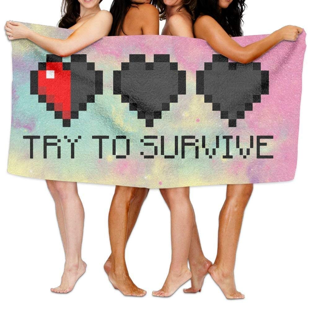 "Toallas ""Try to Survive"""