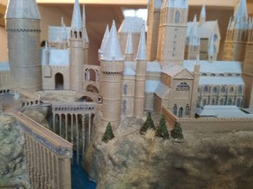 Maqueta Castillo de Hogwarts - Harry Potter