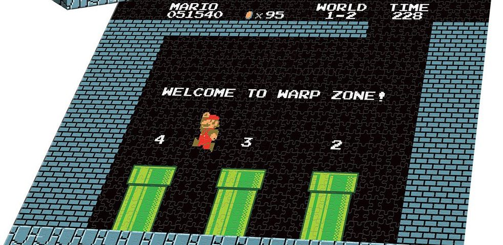 "Super Mario Puzzle: ""Welcome to Warp Zone"" Puzzle"