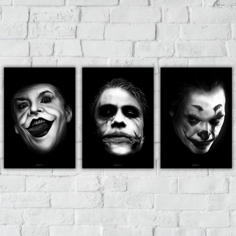 Joker - Art Print Triple Pack
