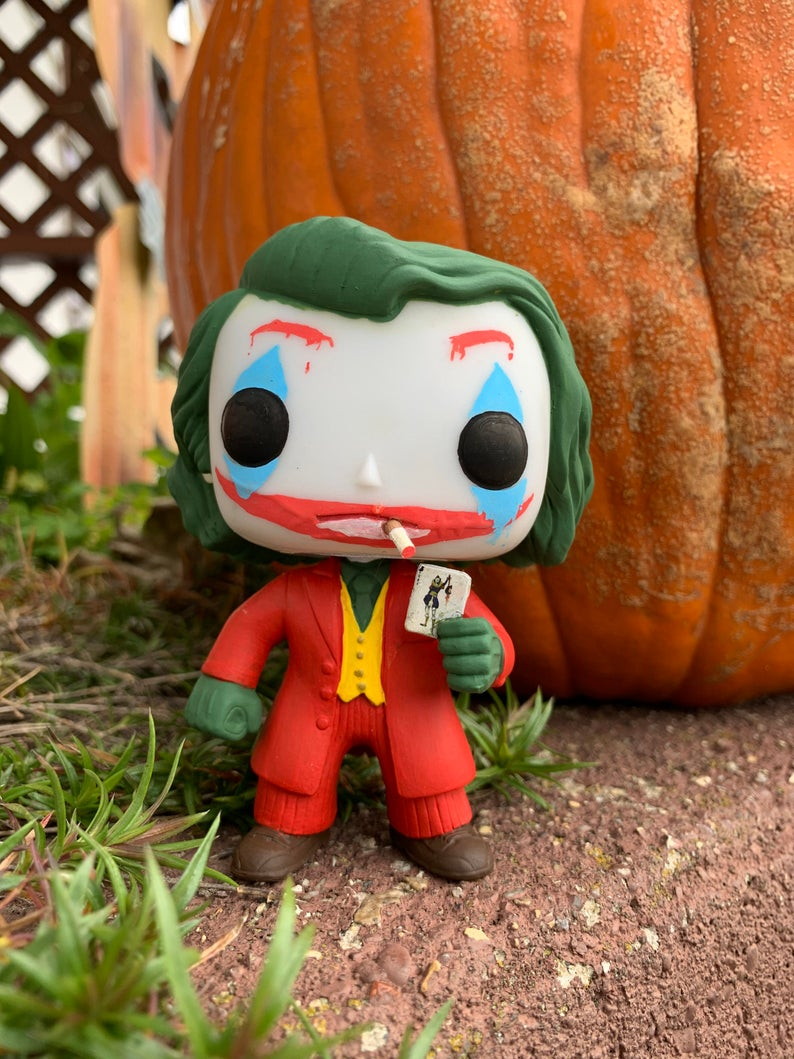 Custom Funko Pop Hand Painted Figure Ledger / Phoenix Mash Up Joker