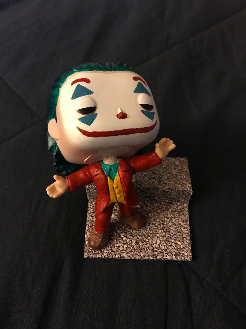 Joker 2019 Custom Funko Pop Figure Movie Moment