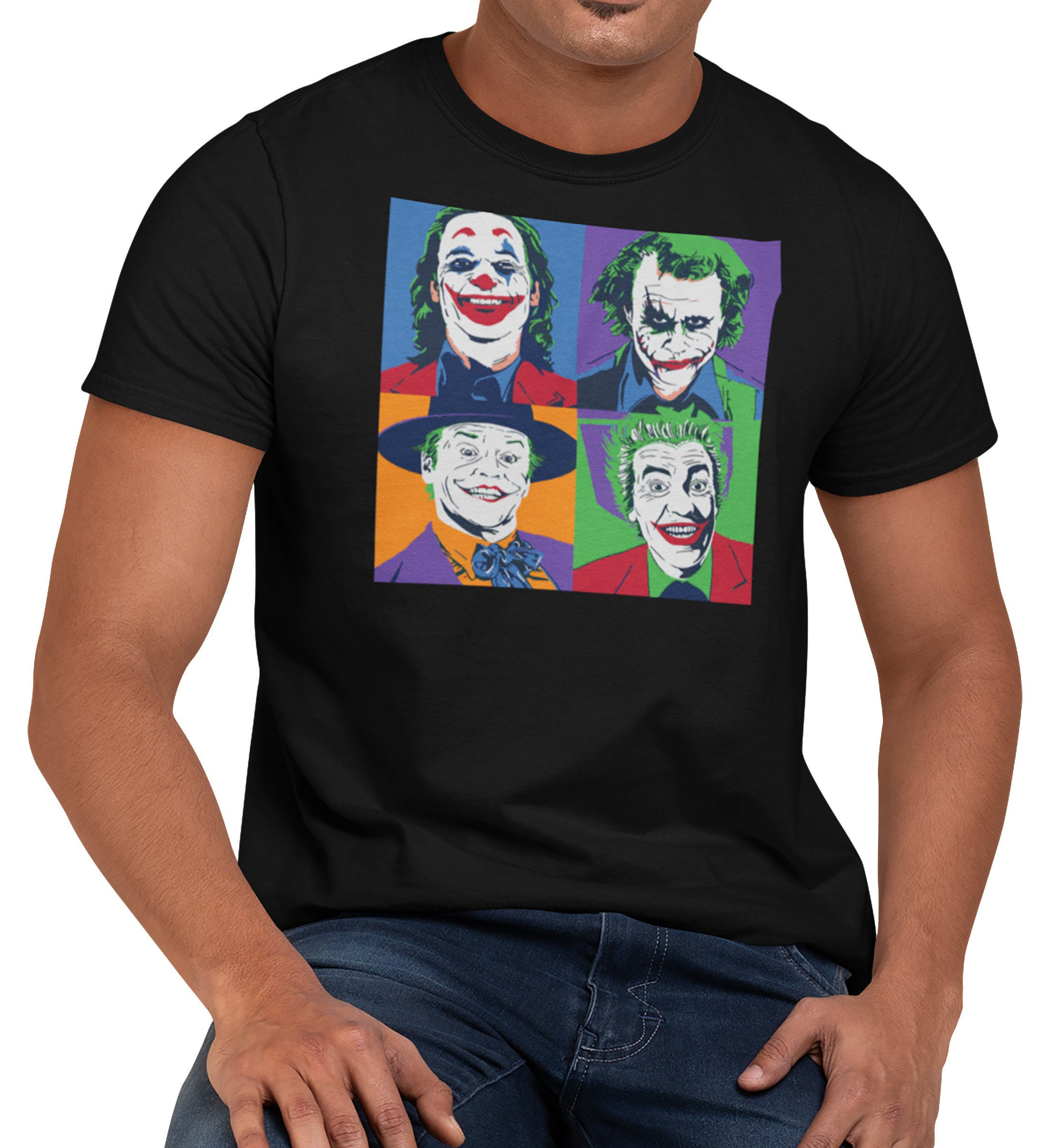 The Joker POP ART Comic Book T-Shirt Unisex Men's Shirt