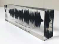 Customized impression of your voice wave
