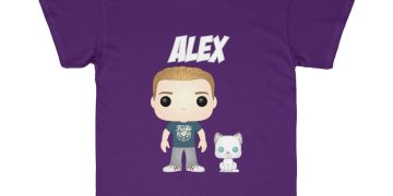 Custom Funko Pop Yourself on a Graphic Tee Youth Sizes