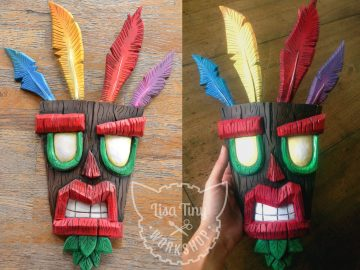 Aku Aku Mask - Crash Bandicot