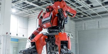 Life Size Japanese Battle Robot